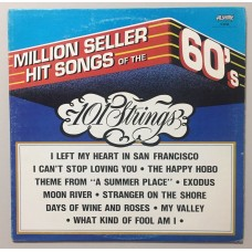 101 Strings Million Seller Hit Songs Of The 60's Lp