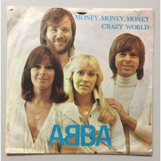 Abba Money Money - Crazy World 45 lik (Türk baskı)