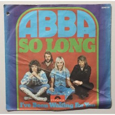 Abba So Long - I've Been Waiting For You 45 lik