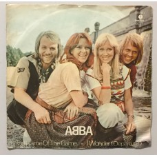 Abba The Name Of The Game - I Wonder Departure 45 lik (Türk baskı)