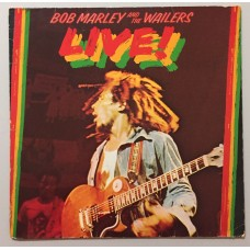 Bob Marley And The The Wailers Live Lp