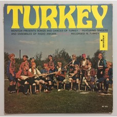 Ensembles Of Radio Ankara Songs And Dances Of Turkey Lp