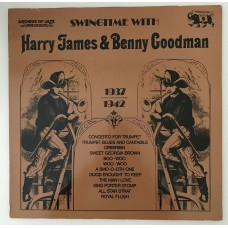 Harry James Benny Goodman 1937-1942 Lp