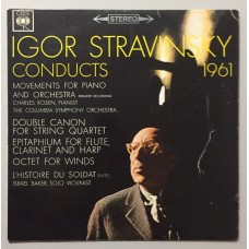Igor Stravinsky Conducts 1961 Lp