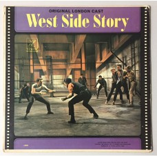 Leonard Bernstein West Side Story Lp (Original London Cast)