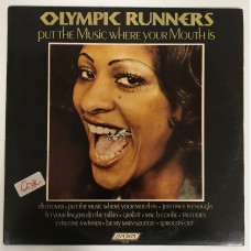 Olympic Runners Out The Musiz Where Your Mouth İs Lp