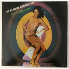The Players Association Turn The Music Up! Lp (Türk baskı)