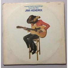 Jimi Hendrix Sound Track Recordings From The Film Lp