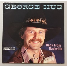 George Hug Back From Nashville Lp