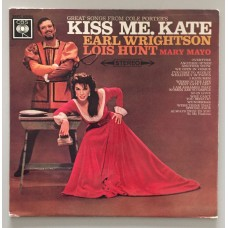Earl Wrightson, Lois Hunt, Mary Mayo Kiss Me, Kate Lp