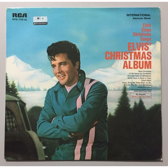Elvis Presley Elvis Christmas Album Lp