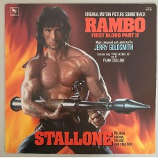 Jerry Goldsmith Rambo First Blood Part II Original Motion Picture Soundtrack Lp