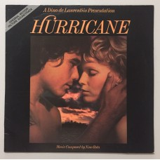 Nino Rota Hurricane Original Motion Picture Soundtrack Lp