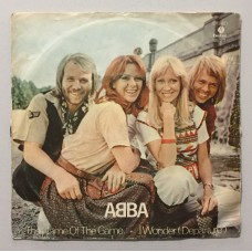 Abba The Name Of The Game - I Wonder (Departure) 45 lik