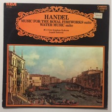Handel Royal Fireworks Music Lp